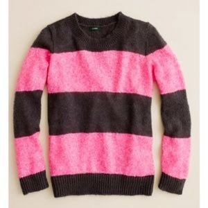 J. Crew Wynter sweater in sequin stripe